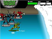 Tortugas adolescentes de Ninja del mutante - arreglo de cuentas de la resaca de la alcantarilla