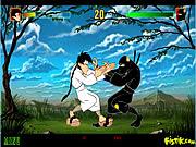 Karaté Kamil contre Ninja Nejat