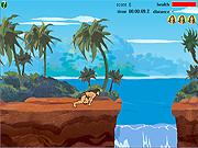 Tarzan y Jane - salto de la selva