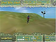 Bremsungs-Fahrrad-Insel