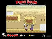 Papá Louie: Cuando ataque de las pizzas