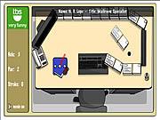 Büro-Minigolf