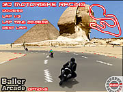 3D Raceauto van de Motor