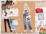 Alışveriş Yapan Kız