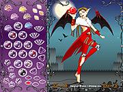 悪魔衣装の妖精