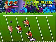 Mania furiosa di gioco del calcio di Taz