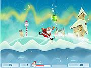 De Sprong van de Gift van de kerstman