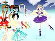 Princesa Fabricante da bailarina