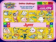 Défi de puzzle de Pokemon