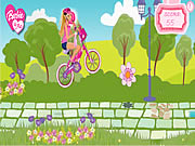 Barbie u. ich Fahrrad-Spiel