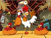 La gallina encierra el juego