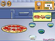 Cozinhando a mostra - pizza