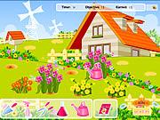 Blumen-Gartenarbeit