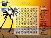Recherche Gameplay 5 de mot - l''Afrique