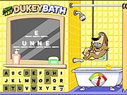 Prueba de Johnny - baño de Dukey
