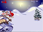 Mobiele kerstman