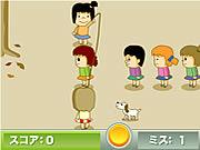 Игра веревочки скача