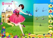 Het dansen de Vlinder van de Prinses