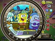 Alfabetos escondidos Squarepants de Spongebob