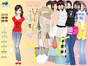 Giysi Giydirme: Şık Blucinler