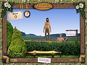 Nudista Trampolining