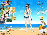 O verão veste-se acima