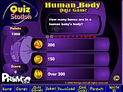 Il gioco di quiz del corpo umano