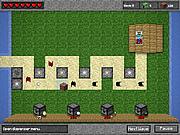 Defensa de la torre de Minecraft
