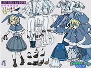Alice Harikalar Diyarında Giydirme