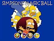 Boule de magie de Simpsons
