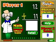Gioco da due giocatori di per la matematica