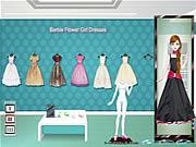Barbie-Blumen-Mädchen-Kleider